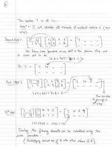 How to multiply two matrices