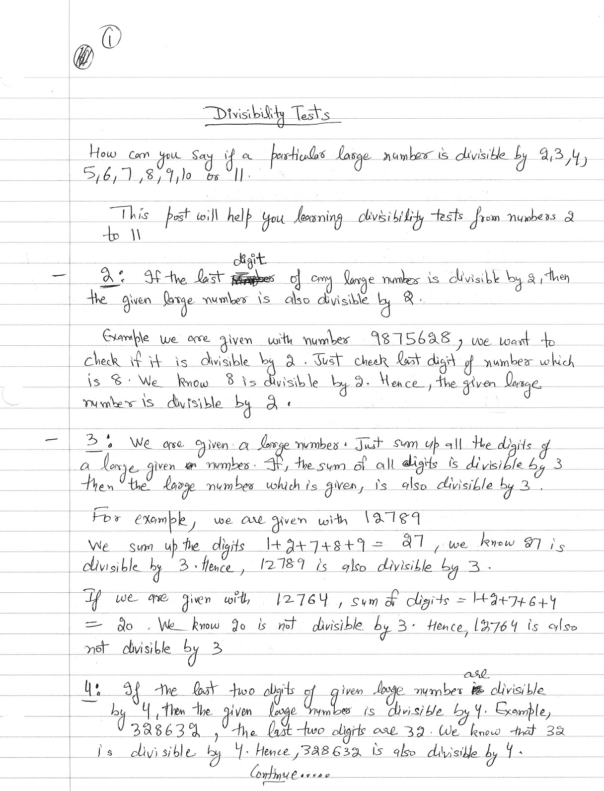 math worksheet : numbers divisible by 10 : Divisibility Rules Test Worksheets