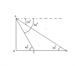 ncert solutions heights and distances applications of trigonometry