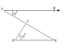 Ncert 9th Math Chapter 6 Lines and Angles Exercise 6.3 Question 3