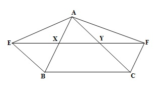 Ncert 9th Math Chapter 9 Areas of Parallelograms and Triangles Exercise 9.3 Question 8