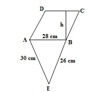 Ncert 9th Math Chapter 12 Heron's Formula  Exercise 12.2 Question 4