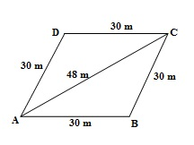 Ncert 9th Math Chapter 12 Heron's Formula Exercise 12.2 Question 5