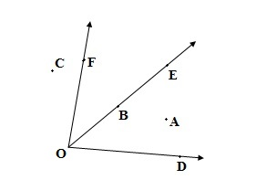 Class 6th math chapter 4 Basic Geometrical Ideas Exercise 4.3 question 2