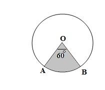 GMAT math prep Circles Area of sector Practice Problem 1