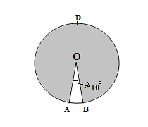 GMAT prep: Sector of the circles practice problem