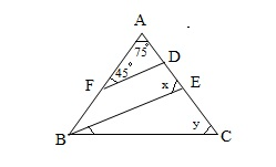 Math Parallel Lines GMAT Sample Question 10